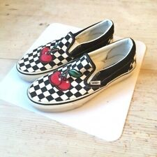 Selten! Vans Sneakers Schuhe Kirsche US 8 EU 38,5 Top Zustand Shoes Cherry