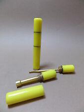 Accessoires pour pipe / Alésoir ACRYLIQUE - jaune - NEUF - ST15