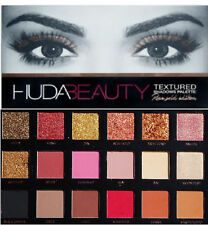 BRAND NEW HUDA Beauty textured Eye Shadow Makeup Palette ROSE GOLD EDITION - 18