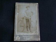 FOTOGRAFIA 1912 FERRARESE BICI SPORT TURISMO CORSA EROICA MAINO BIANCHI