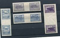 """RUSSIA YR 1922,SC B34-37,MI 191-94,WITH GUTTER,MNH/MLH,""""FOR HUNGRY"""",SEMI-POSTALS"""