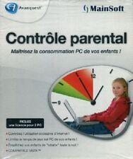 CONTROLE PARENTAL NEUF LICENCE POUR 2 PC- WIN 98 - ME - NT - 2000 - XP - VISTA