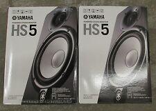 Brand NEW Yamaha HS5 Pair 2 Active Studio Monitor Speakers