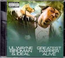 New: LIL WAYNE, BIRDMAN & IDEAL - Greatest Rapper Alive [PA] CD