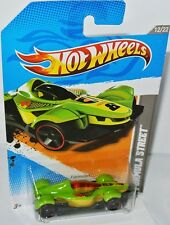 2012 Code Cars - FORMULA STREET - green/graphics - 1:64 Hot Wheels