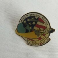 NASA Challenger Space Shuttle Memorial Lapel Hat Pin Back