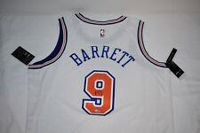 RJ Barrett Autographed New York Knicks White Nike Swingman Jersey (Fanatics)
