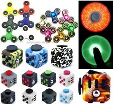 20 X mixed  Fidget Finger Hand Spinner + Fidget cube Wholesale Joblot