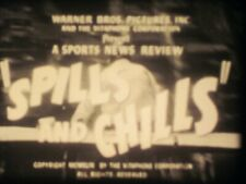 16mm Sound Warner Brothers Spills & Chills, 1949  Robert Youngson Production