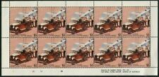 AUSTRALIA - 1988 ROYAL FLYING DRS Cinderella Sheetlet of 10 As issued MNG [B4948