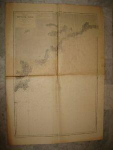 Carte service hydrographique marine - St Tropez à Menton - N°2682