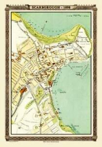 Map of Scarborough 1898 from the Royal Atlas - 1000 Piece Jigsaw Puzzle
