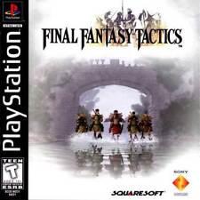 Final Fantasy Tactics - PS1 PS2 Complete Playstation Game