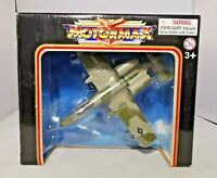 MOTORMAX - FAMOUS FIGHTERS - APPROX 15CM LENGTH - A-10 THUNDERBOLT II - DIECAST