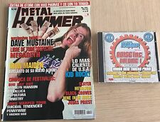 METAL HAMMER N 143+ CD NOISE INC. VOL 1 + POSTERS -Rep ( MEGADETH, IRON MAIDEN )