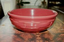 New ListingLongaberger Pottery Woven Traditions Paprika Coupe Cereal Bowl