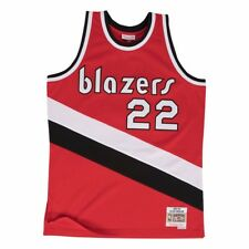 588dad679 Clyde Drexler Portland Trail Blazers Mitchell   Ness Swingman Jersey Red S