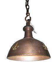 Elegante Lámpara de techo vintage industria 35cm diámetro cobre oro cadena