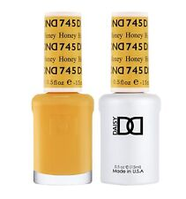 DND Daisy Soak Off Gel Polish Honey 745 LED/UV .5oz gel duo DND 745