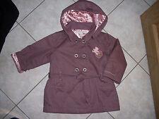 ♥♥ manteau type trench Lulu Castagnette 24 mois tbe ♥♥