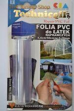 REEL OF PVC FOIL FOR REPAIR PATCHES TRANSPARENT 8.4 cm x 50 cm x 0.18 mm