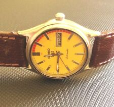 VINTAGE 6349 A SEIKO 5 AUTOMATIC MAGNIFICENT YELLOW DIAL