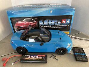 Mazda MX-5 M05 M-Chassis On Road Kit Hobbywing Esc Motor Lipo Nice!!