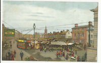 Norfolk - Great Yarmouth, Market Place - 1900's Postcard