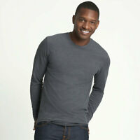 Mens Unisex Next Level Sueded Cotton Blend Long Sleeve Tee T-Shirt 6411