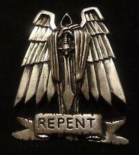 40k Dark Angels Repent Angel of Death pin