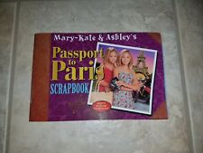 USED Mary-Kate & Ashley's Passport to Paris Scrapbook - Olsen Twins