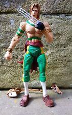SOTA Toys - VEGA Green & Head Variant Street Fighter 2 Rare Gamestop Exclusive