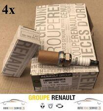 4 original renault bujías zündkerzenset 4-cilindro Clio laguna megane scenic