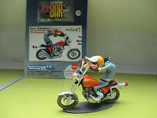 JOE BAR TEAM figurine & livret serie 2 no 29 S.TROPLEPINCE TRIUMPH X75 HURRICANE