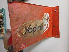 Old Yoplait Yogurt  And Fud Wall Sign Metal-Mexican-Restaurant-2 Sided-12x9