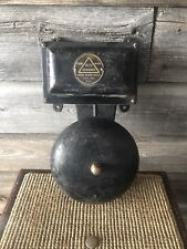Vintage Edwards Fire Alarm Bell New York Fire Fighter Alarm