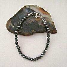 ~ Stunning Sparkle! Hematite Beaded Bracelet