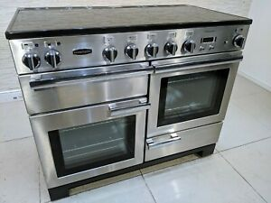 RANGEMASTER PROFESSIONAL PLUS INDUCTION 110 CM  RANGE COOKER IN STAINLESS A602