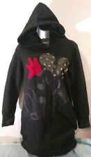 MICKY MOUSE by ELYSIA DRESS PULL-OVER HOODIE SWEATSHIRT,  EUC