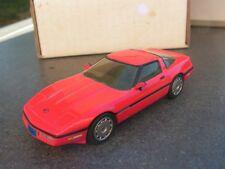 AMR MAQUETTE F LAPLACE     corvette  ROUGE  1986     kit monte       1/43  (f)