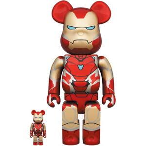 Bearbrick Iron Man Mark 85 100% & 400%