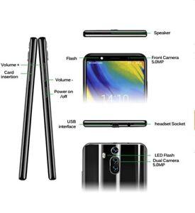 Xgody 6 Inch Android 8.1 Cellphone Unlocked Dual Camera HD Screen Unlocked Smart