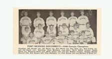 Fort Benning Doughboys Georgia 1948 Baseball Team Picture Ralph Terry
