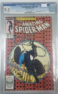 Amazing Spider-Man #300 - CGC 9.2 (Marvel Comics, 1988, McFarlane - 1st Venom)