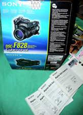 Multilingual Manual Gebrauchsanweisung Sony DSC-F828 Cybershot Digi Still Camera