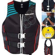 New Sea Doo Freedom Life Jacket 2867641676 Lumbar Padding Aqua Black Womens 3XL