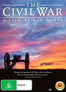 The Civil War - A film by Ken Burns DVD (Restored and Remastered) New