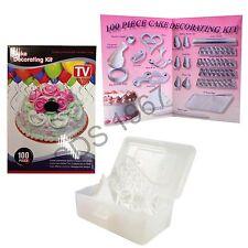 Decoración de Pasteles Set 100 un. Kit De Galletas Glaseado Magdalena Craft Cumpleaños Muffin Boquilla