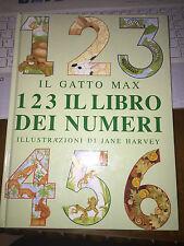 IL GATTO MAX 1 2 3 IL LIBRO DEI NUMERI illustrazioni JANE HARVEY Orsa Maggiore