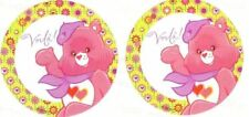 2 x Circle Stickers ~ Travel Paris Voila Care Bears Party Favours Loot ~